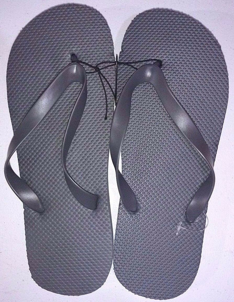 New Men's Unisex Flip Flops/Shower Shoes Blue, Orange, Black,Red,Lime Green,Grey