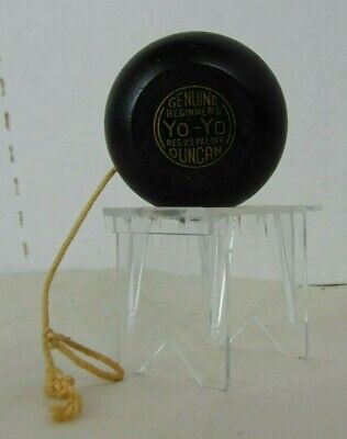 Vintage Genuine Beginners Duncan Yo-Yo Wood Toy