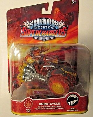 SKYLANDERS SUPERCHARGERS BURN CYCLE FIRE BY ACTIVISION. NEW BURN-CYCLE VEHICLE.
