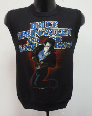 BRUCE SPRINGSTEEN 1984 ROCK & ROLL VINTAGE SWEATSHIRT AND THE E STREET BAND SMLL