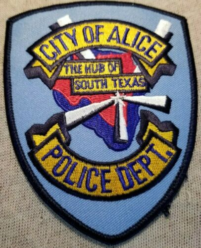 TX City of Alice Texas Police Patch