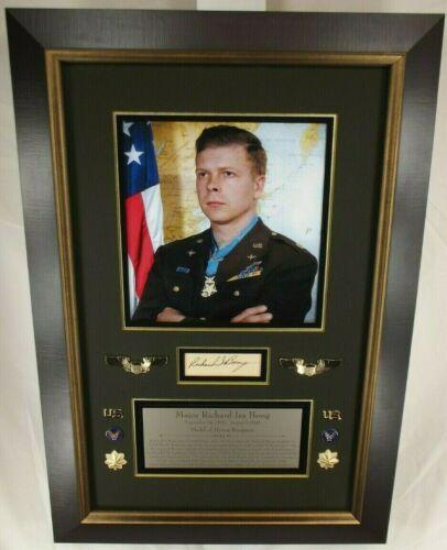 RICHARD I. BONG Medal Honor All Time Ace 40 Kills
