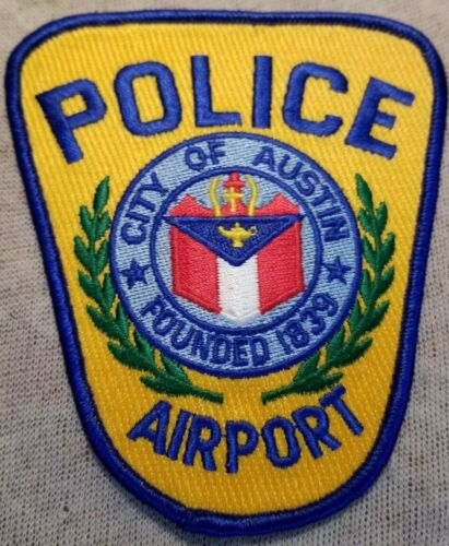 TX Austin Texas Airport Police Patch