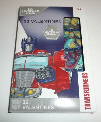 Valentines Cards For School (Transformers Children's 32 Valentines For Kids School Valentine's Day Cards)