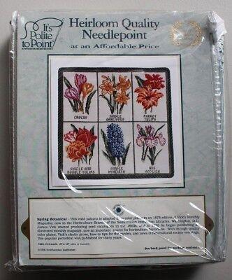 Heirloom Quality Needlepoint Kit