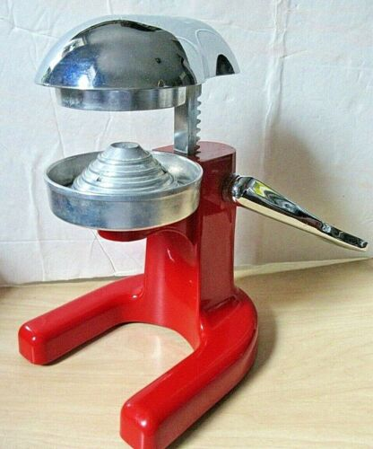 Vintage Metal Juicer Orange Citrus Manual Squeezer