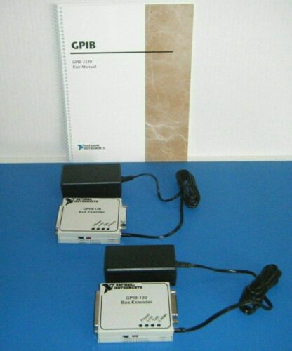 *LOT* NI GPIB-130 Extenders with Power Supplies (2 Sets), National Instruments
