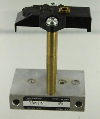 Parker Schrader Bellows Pl50m1gm7 Pneumatic Injection Lubricator New