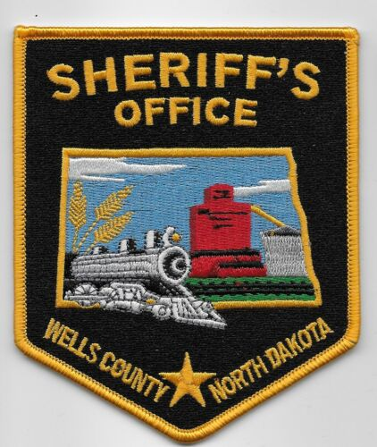 Wells County Sheriff State Nrth Dakota ND Train patch