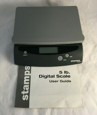 Stamps 5 Lb. Model 500dw Digital Postage Package Envelope Scale W Manual