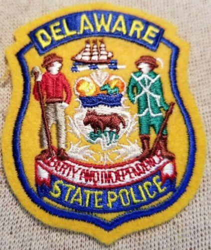 DE Delaware State Police Patch (3In Mini Patch)