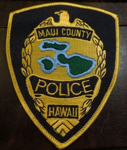 Hawaii Maui County Hawaii Police Eagle Uniform Patch NEW