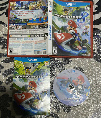 Mario Kart 8 - Nintendo Wii U - Excellent Condition - COMPLETE.