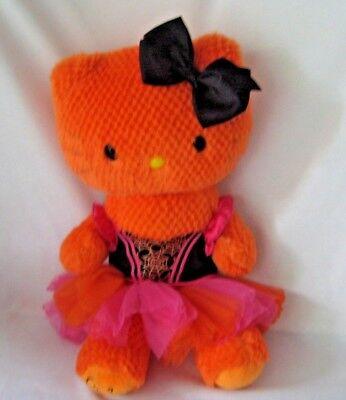 Build a Bear Hello Kitty Orange Plush 18
