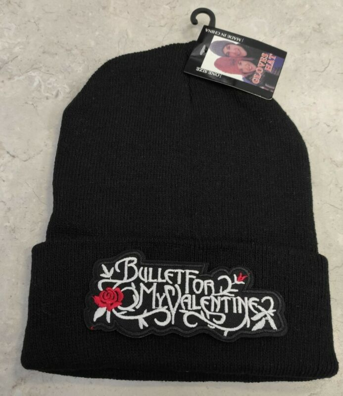 Bullet For My Valentine Knitted Cotton Skull Cap Hat BULLET FOR MY VALENTINE HAT
