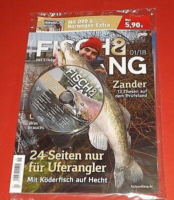 FISCH & FANG 01/2018 Jahrgang 59 + DVD ungelesen