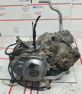 2002 Yamaha yz426f Complete Bottom End Engine Transmission + Kick Start Lever +