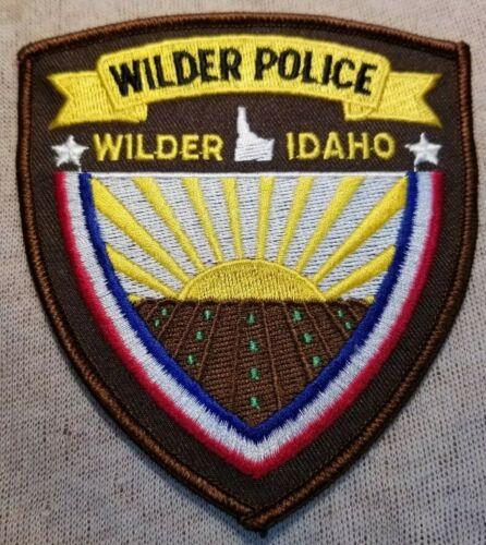 ID Wilder Idaho Police Patch