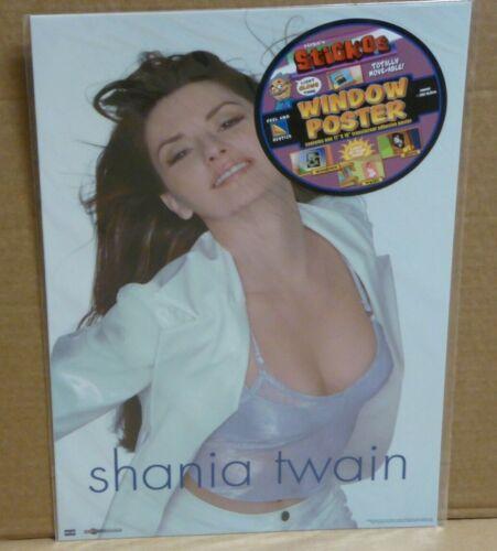 Shania Twain Sticos adhesive 16 x 11 Window Poster NEW NuVista 2000