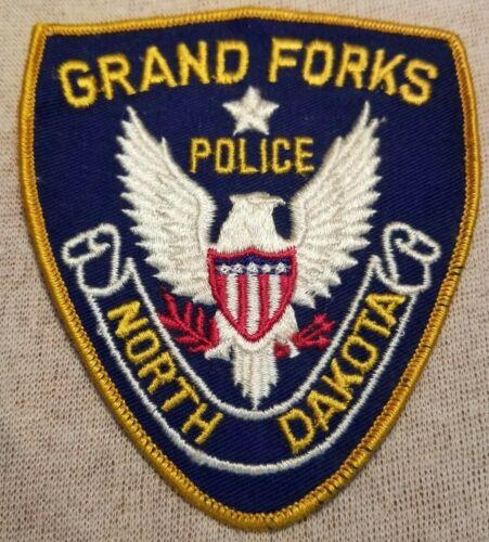 ND Grand Forks North Dakota Police Patch
