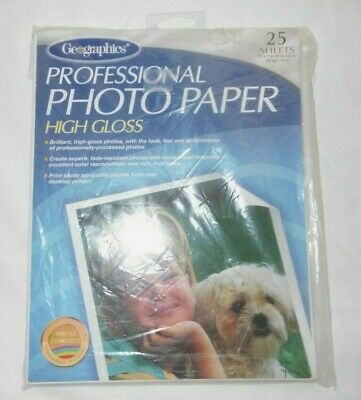 Geographics Matte & Glossy Photo Paper 11