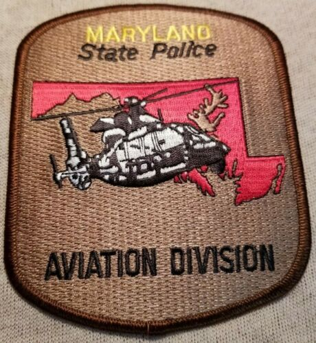 MD Maryland State Police Aviation Division Patch