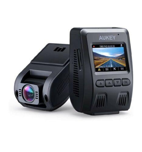 AUKEY Dashcam 1080P FHD Autokamera mit 170 Grad Weitwinkel,nur Front cam
