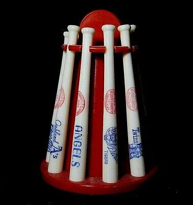 MLB Vintage Mini Baseball Bat American League Bank 1970s Louisville Slugger