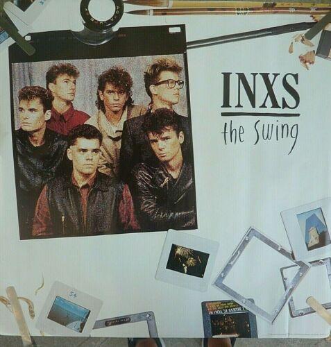 RARE INXS THE SWING 1984 VINTAGE ORIGINAL  MUSIC STORE PROMO POSTER