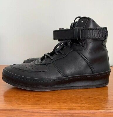 Hender Scheme Mens MIP-01 Air Force 1 Black Leather Size US 9