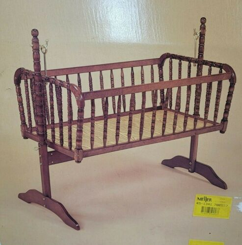 Jenny Lind Baby Cradle Brass Hardware Disassembled Ready to Ship
