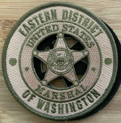 US Marshals Service - Eastern District of WA - OD - Genuine *Kokopelli Patch*