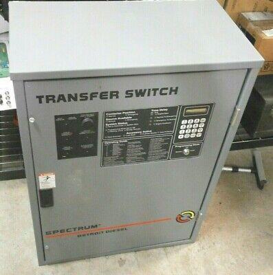 Detroit Diesel Spectrum Generator Transfer Switch - 80 Amp - Rls-566341-0080