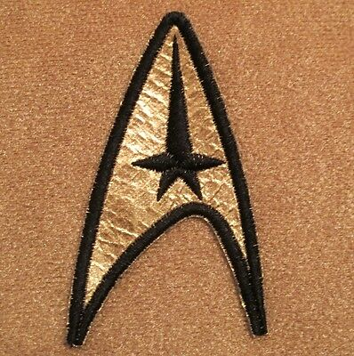 Star Trek TOS Original Series Insignia Patch - Command Enterprise Emblem Kirk