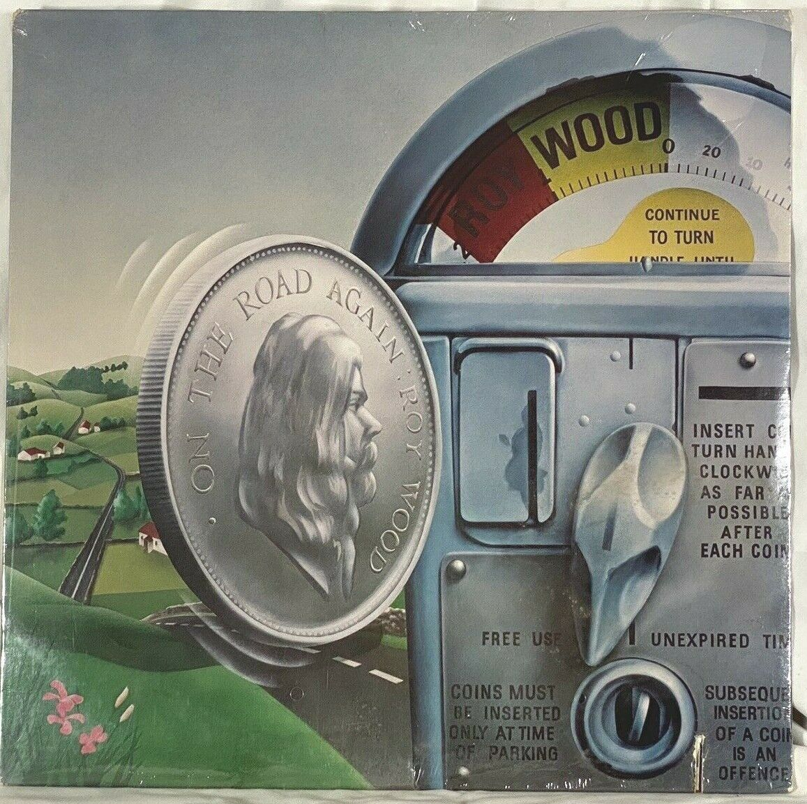 ROY WOOD ON THE ROAD AGAIN THE MOVE ELO WB SAW CUT SEALED  - $12.00