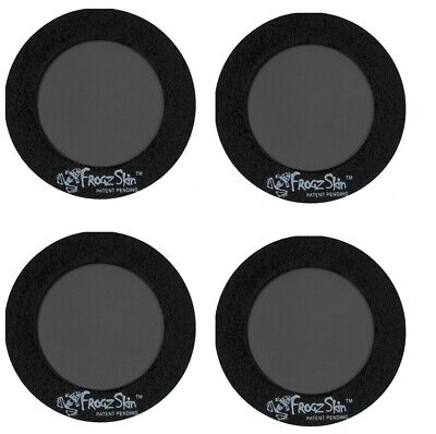 "FrogzSkin Universal Circle Vent 1.75"" OD x 1"" ID 4 Pack"