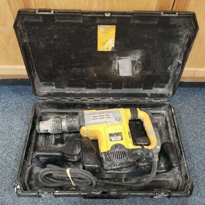 Dewalt D25831 13.5 Amp Sds-max Demolition Hammer Kit Pre-owned W Case
