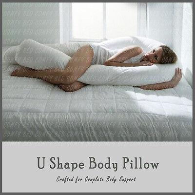 9 Ft U Shape Full Body Comfort Pillow Maternity Pregnancy Nursing Back Support