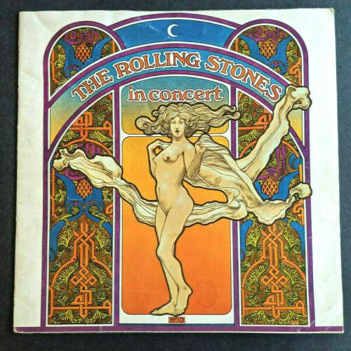 Rolling Stones 1969 Let It Bleed Concert Tour Program & Discography