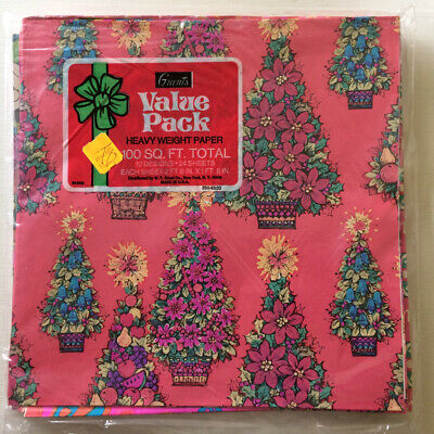 Vintage Christmas Wrapping Paper Value Pack