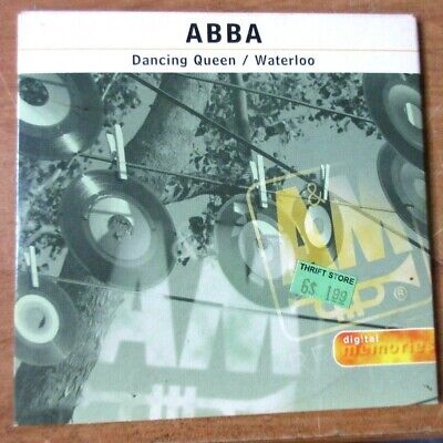 ABBA Dancing Queen / Waterloo USA Single CD in Card Sleeve PolyGram Records 1998