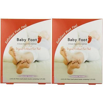 Baby Foot Lavender Easy Pack Exfoliant Foot Peel (Pack of 2), used for sale  Shipping to India