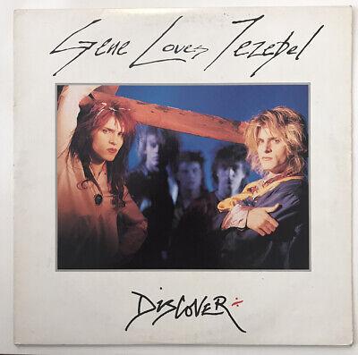 Gene Loves Jezebel - Discover Vinyl LP 1986