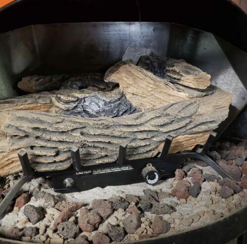 MCM Preway cone fireplace LP gas log set