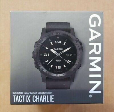 Garmin Tactix Charlie Multisport GPS Training Watch Sapphire Black 010-02084-00