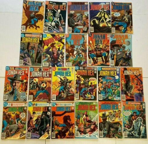 JONAH HEX #40 to 92 Newsstand Variant Kubert DC Western 22pc Collection Lot
