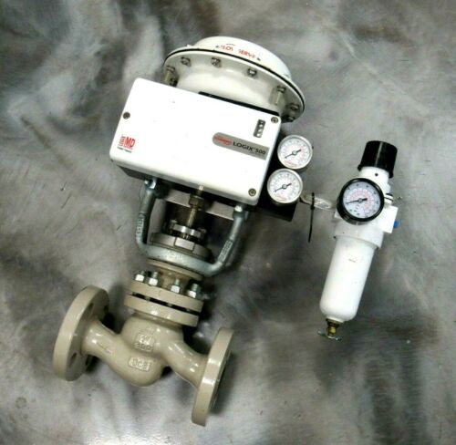 """NEW FLOWSERVE 127A ACTUATED CONTROL VALVE 1"""" LOGIX 500MD 520MD-02-W1DEE-0000-GM2"""