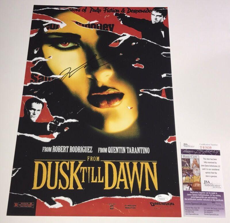 Quentin Tarantino FROM DUSK TILL DAWN Signed 11X17 Autograph PROOF JSA COA
