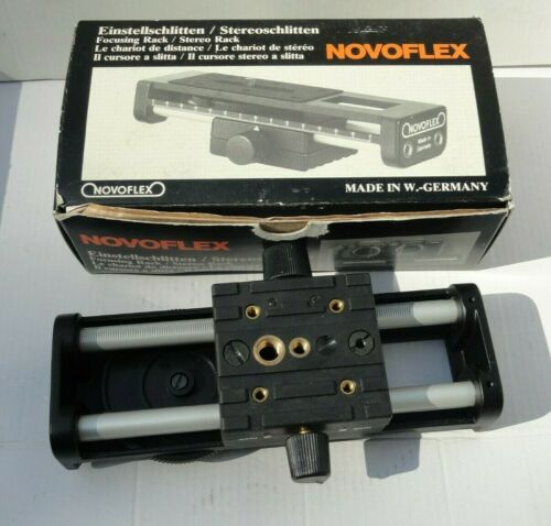 Novoflex Stereo Focusing Rack