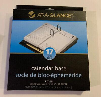 At-a-glance Calendar Base 3-12 X 6 Black